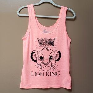 Disney Lion King Simba graohic tank top
